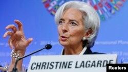 Direktur Dana Moneter Internasional (IMF), Christine Lagarde mengatakan mengurangi kesenjangan dapat membantu pertumbuhan ekonomi (foto: dok).
