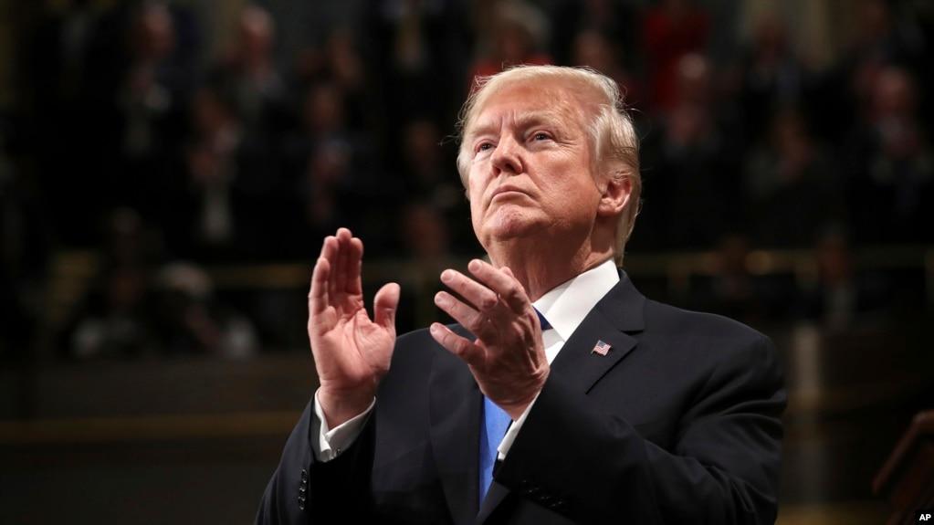 Tổng thống Hoa Kỳ Donald Trump.