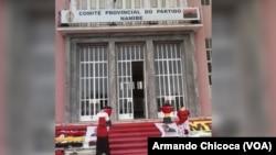 Comité Provincial do MPLA no Namibe