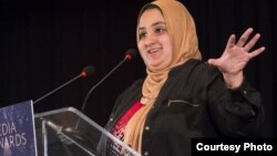 Lena Khan, sutradara Muslim yang menjadi penerima penghargaan Media Awards tahun ini. (Foto courtesy: MPAC)