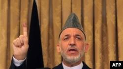 Ông Hamid Karzai muốn Hoa Kỳ giảm sự hiện diện và cường độ của các hoạt động quân sự ở Afghanistan