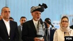 د ټاکنو خپلواک کمیسیون د چهارشنبې په ورځ جمهور رئیس غني ته د افغانستان د جمهور رئیس په توګه د ټاکنو د بریا وثیقه ورکړه.