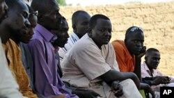 Wasu 'yan Niger, da suka arce daga Libya a kwanan nan.