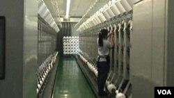台灣棉紡織品製造廠廠房。(圖片由受訪者提供)