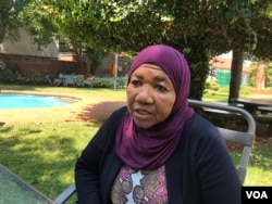 Amina Mohammed, the deputy chief of the U.N. Children's Fund (UNICEF), says her organisation is importing more drugs to combat cholera and is optimistic the situation is improving and stabilizing, in Harare, Zimbabwe, Sept. 14, 2018. (C. Mavhunga/VOA)