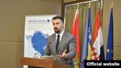 Minsitar evropskih poslova Crne Gore Andrija Pejović