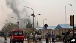 14일 이라크 바그다드 연쇄 테러 현장