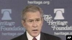 Bush On Global War On Terror