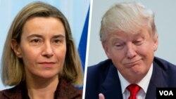 ABD Başkanı Donald Trump'ın mülteciler ve bazı ülke vatandaşları için aldığı seyahat kararı yasağına tepki gösteren Avrupalı yetkililer kervanına AB Dışişleri ve Güvenlik Politikası Yüksek Temsilcisi Federica Mogherini de katıldı.