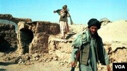 Pemberontak Taliban di provinsi Kandahar, Afghanistan selatan.