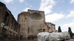 تصویری از معبد ونوس در رم