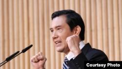 马英九 (图片来自台湾总统府官方网页)