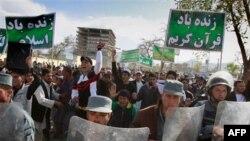 Afganistan'da Gösterilerin Üçüncü Gününde Yine Kan Döküldü