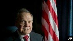 Roy Moore, expresidente de la Corte Suprema de Alabama aspira al Senado de EE.UU. en representación del partido Republicano.