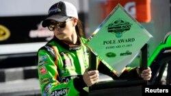 La velocidad alcanzada por Patrick fue la más rápida en una clasificación de Daytona desde 1990.