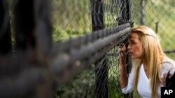 La esposa de Leopoldo López, Lilian Tintori, pidió a los países latinoamericanos no ignorar la crisis en Venezuela.
