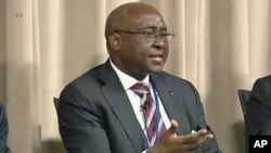 Current head of the African Development Bank, Donald Kaberuka.