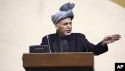 Tổng thống Afghanistan Ashraf Ghani