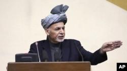 محمد اشرف غنی برگزاری مظاهرات صلح آمیز را حق مسلم مردم خواند