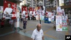 Hong Kong menyelenggarakan pemilu parlemen hari Minggu ini (9/9).