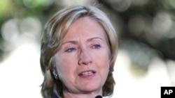 克林顿国务卿1月12日在夏威夷檀香山市的东西方中心发表演讲