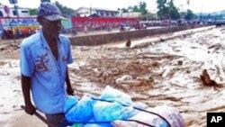 Inondation à Port-au-Prince