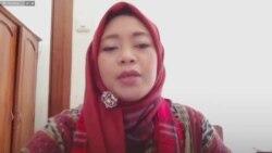 Dahlia Umar, Ketua Lembaga Network for Indonesian Democratic Society (Screenshot)