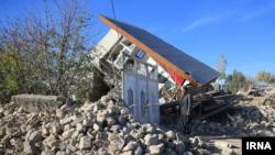 روستای دهجامی بعد از زلزله