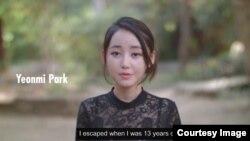 미국 내 탈북자지원단체 '링크'의 웹사이트의 홍보 영상. 탈북 대학생 박연미 씨를 비롯해 3명의 탈북 대학생이 출연해 탈북 전후의 삶을 이야기한다.