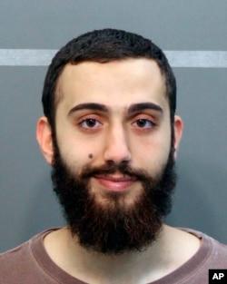 Foto Muhammad Youssef Abdulazeez dari kantor Sheriff Hamilton County, Tenn., yang diambil saat Abdulazeez ditangkap atas pelanggaran lalu lintas.
