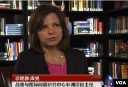 華盛頓戰略與國際問題研究中心非洲項目主任珍妮佛.庫克