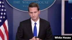 에릭 슐츠 백악관 부대변인 (자료사진)
