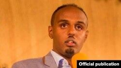 Guuleed Axmed, guddoomiyaha xarunta xuquuqal Insaanka ee Somaliland.