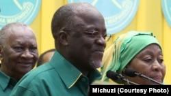 Mgombea urais wa CCM John Magufuli