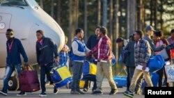 瑞典2015年11月9日移民資料照。