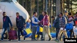 اکثر پناهجویان تازه وارد در اروپا از شرق میانه و شمال افریقا هستند.