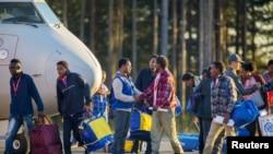 Refugiados africanos na Suécia