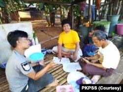 Pendataan orang yang pernah mengalami kusta oleh PKPSS, Makassar. (Foto: Courtesy/PKPSS)
