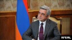 Սերժ Սարգսյան, պահոց