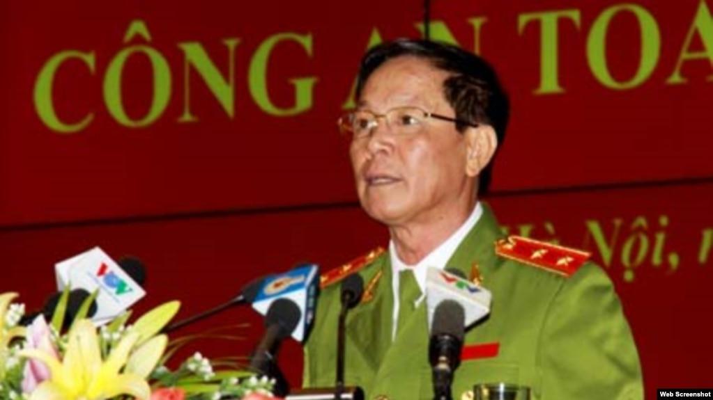Trung tướng Phan Văn Vĩnh - nguyên Tổng cục trưởng Tổng cục Cảnh sát, Bộ Công an.