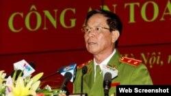 Trung tướng Phan Văn Vĩnh - nguyên Tổng cục trưởng Tổng cục Cảnh sát, Bộ Công an. (Ảnh: Công an Nhân dân)