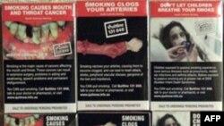 Amerika'da Sigara Paketlerinin Üzerine Yeni Uyarılar Konacak