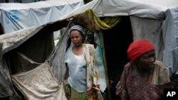 Wanawake walopoteza makazi huko Congo