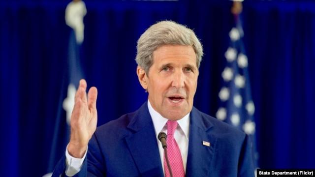 Ngoại trưởng John Kerry.