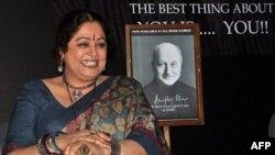 کرن کھیر نے اپنے کریئر کا آغاز 1983 میں پنجابی فیچر فلم 'آسرا پیار دا' سے کیا تھا۔