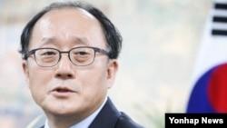 한국의 대통령 직속기구인 민주평화통일자문회의 유호열 수석부의장.