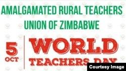 Masangano mana evarairidzi aungana muHarare achicherechedza zuva reWorld Teachers' Day