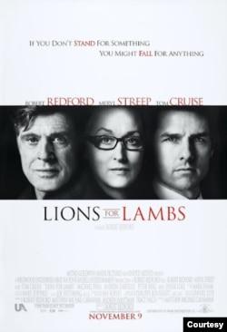 اداکار و ہدایت کار روبرٹ ریڈ فورڈ کی فلم 'لائن فار لیمبز' میں میریل اسٹریپ اور ٹام کروز کے ساتھ ساتھ انہوں نے خود بھی اداکاری کی تھی۔
