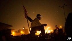 埃及穆兄會成員及其支持者8月2日在開羅東部的納賽爾城舉行抗議活動。