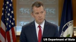 美国国务院新闻办公室主任拉特克(图片来源:美国国务院)
